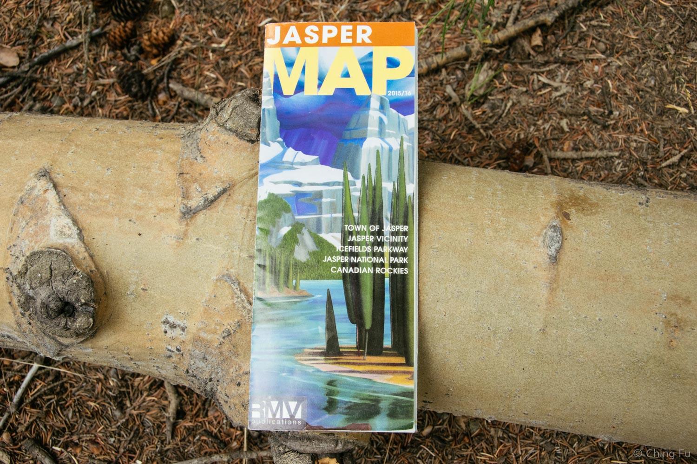 Good free map of Jasper.