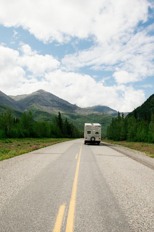Toaster on the Alaska Highway
