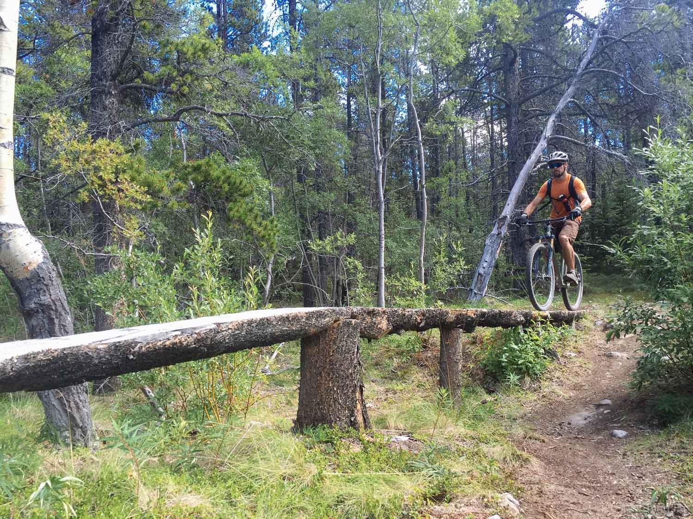 Jerud on Sporting Wood trail.