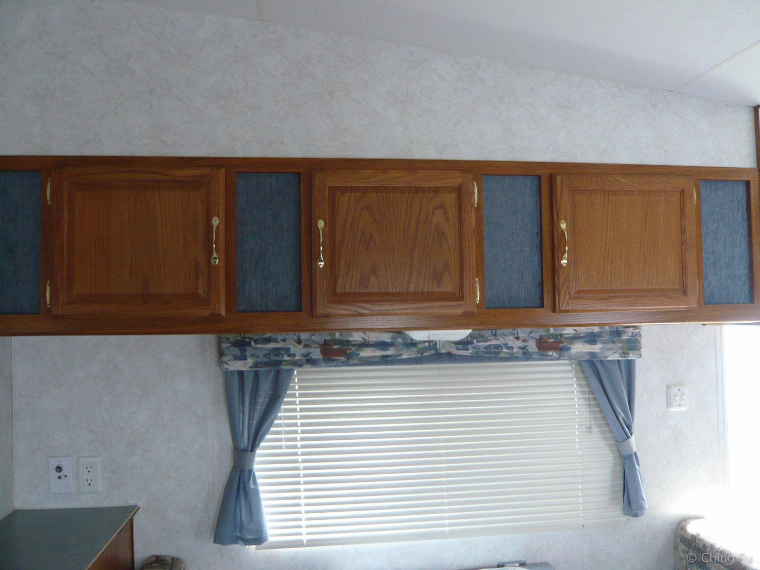 Original RV valances.