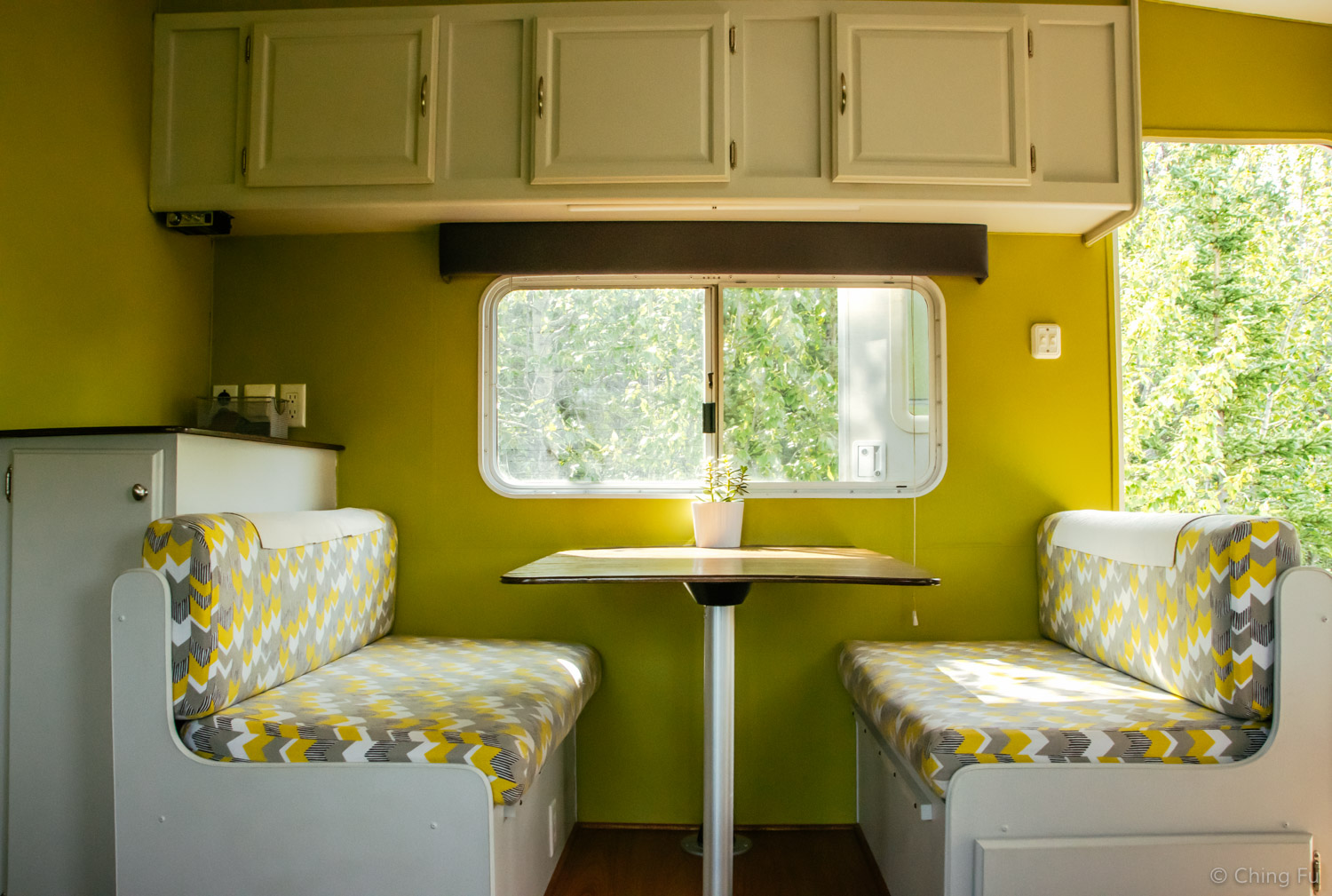 Our dinette.