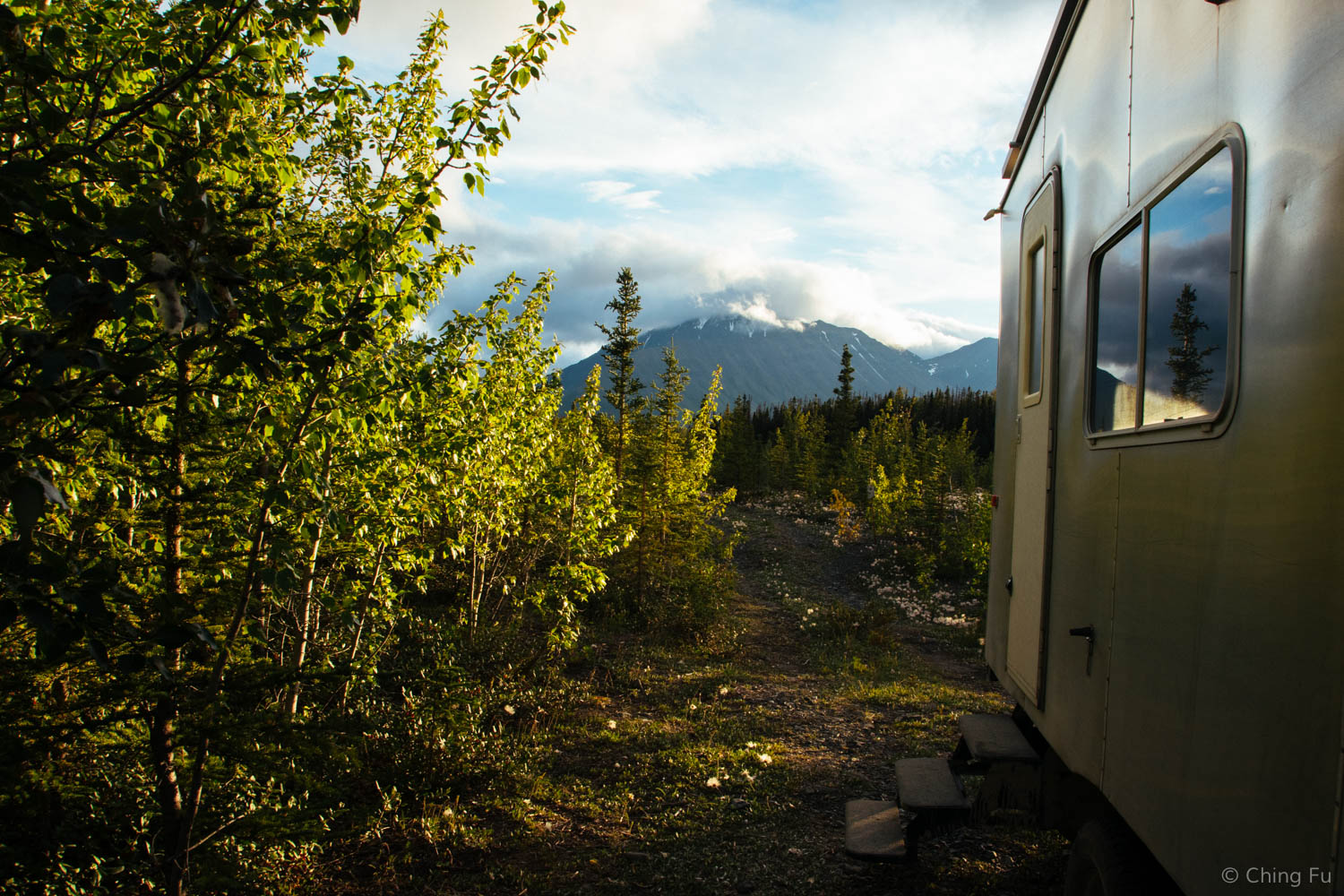 Boondocking next to Quill Creek.