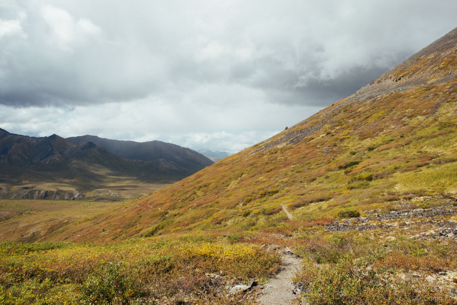 Goldensides Mountain in Tombstone Territorial Park.