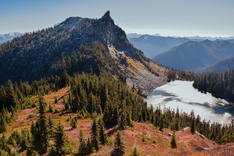 McCausland Trail in Wenatchee National Forest.