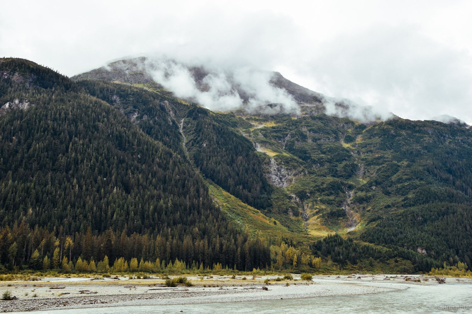 View from Salmon River.