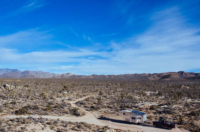 The Toaster in Mojave Desert.