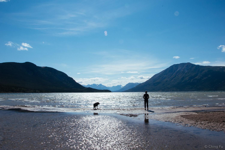 Tybee at Bennett Lake.