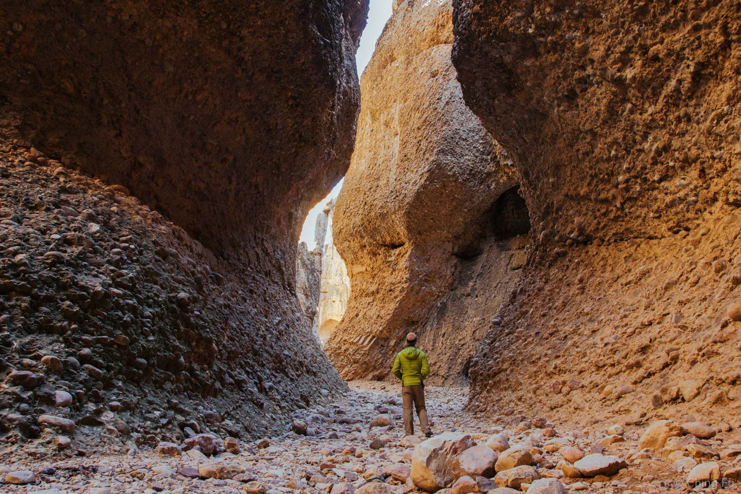 Jerud in Box Canyon.