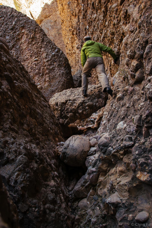 A lot of fun stuff to climb over.