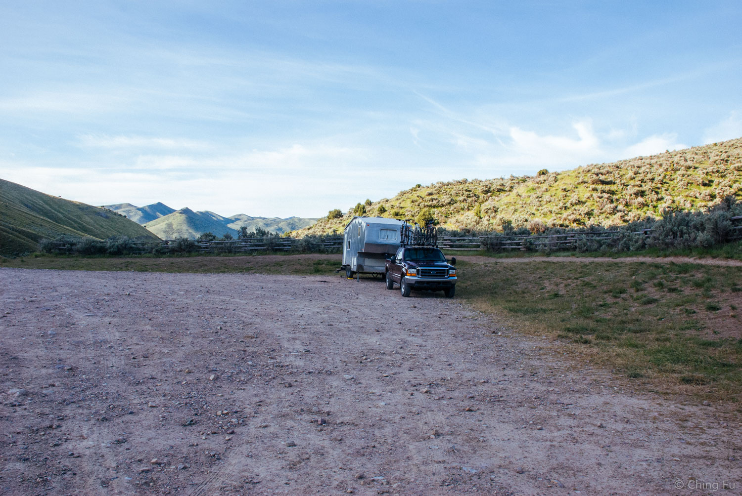 We found this site that we really enjoyed in  Blackrock Canyon, ID  thanks to Free Campsites.