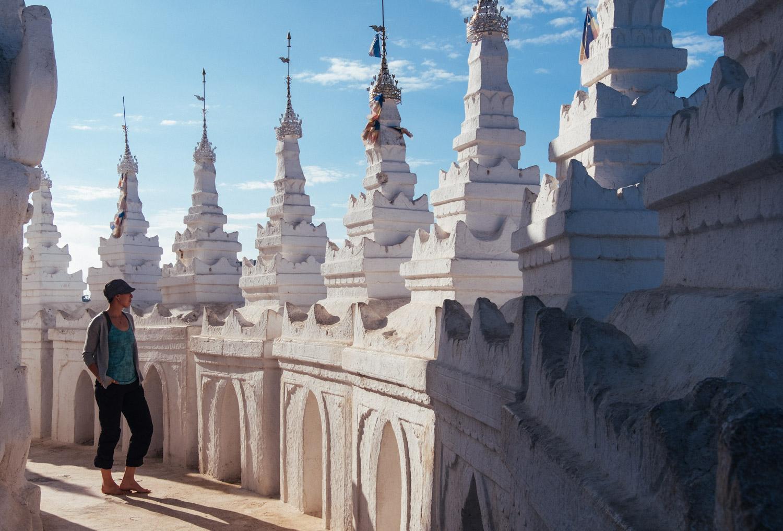 Ching at Hsinbyume Pagoda
