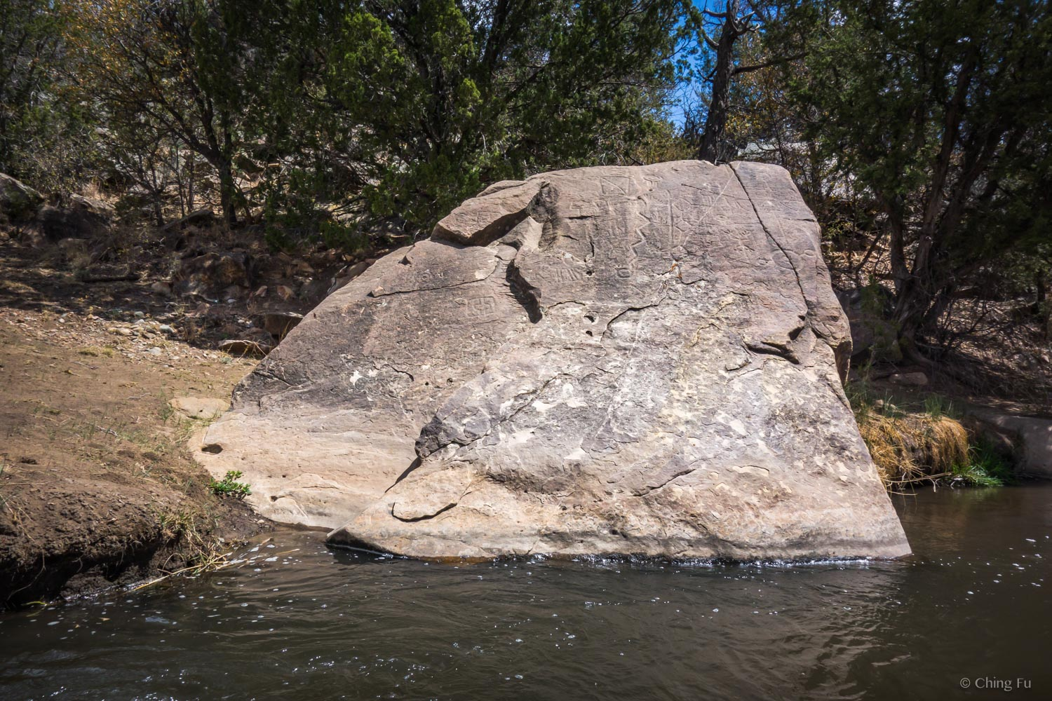 Petroglyph Trail at Fort Stanton