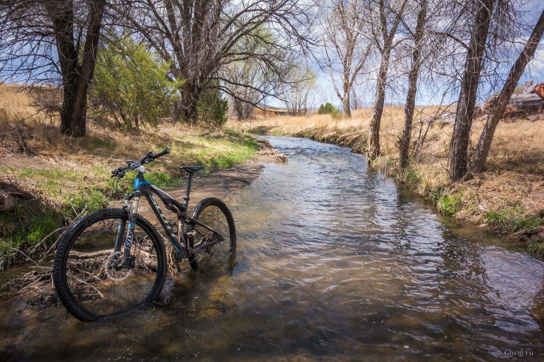 Rio Bonito Creek in Fort Stanton