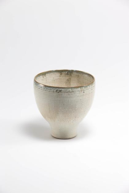 Jang Jin     Still Life 14-016, 2014    Ceramic    5.7h x 5.5w x 5.5d in  (14.48h x 13.97w x 13.97d cm)