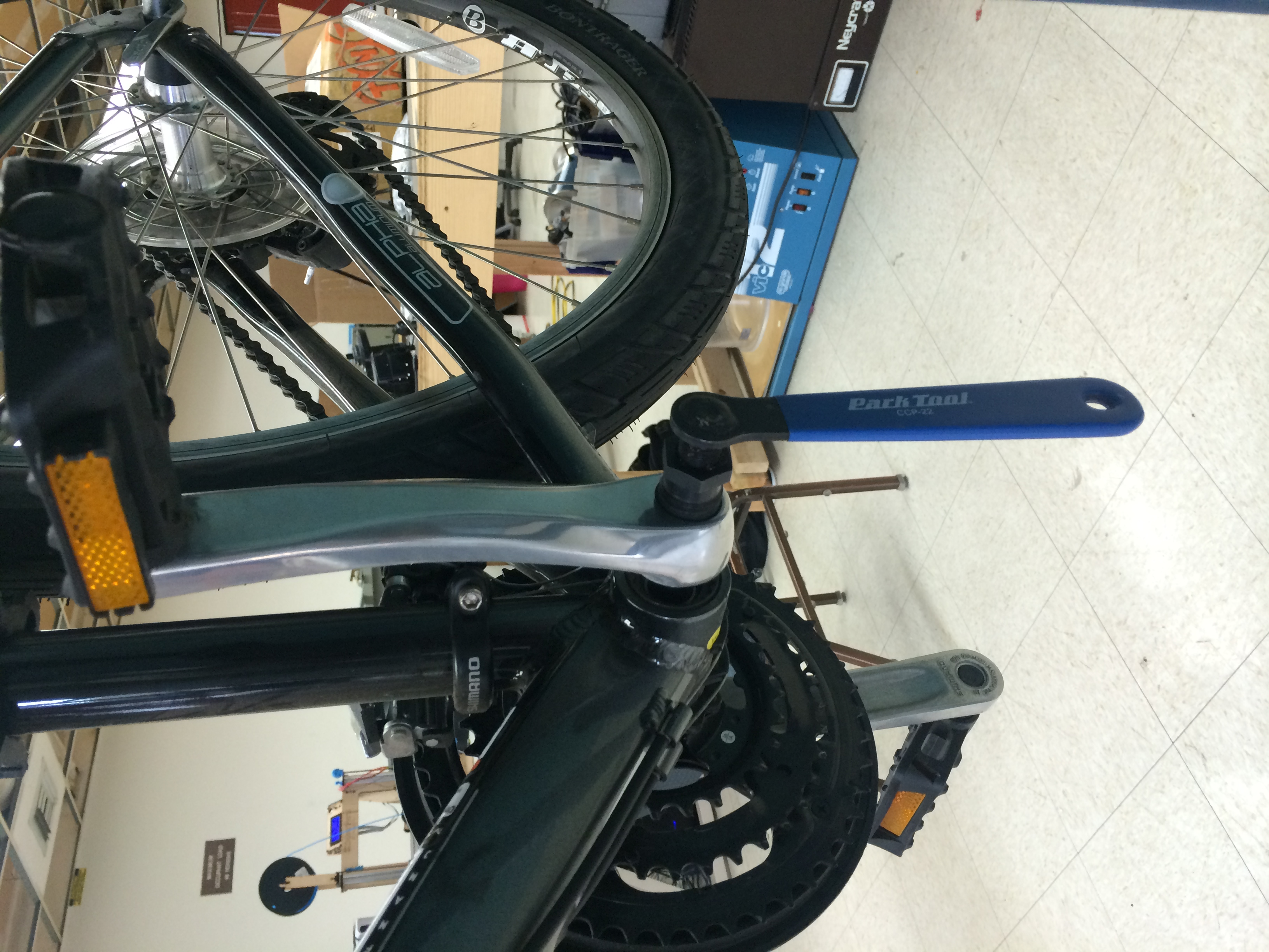 Removing the Crank Arms Part 2