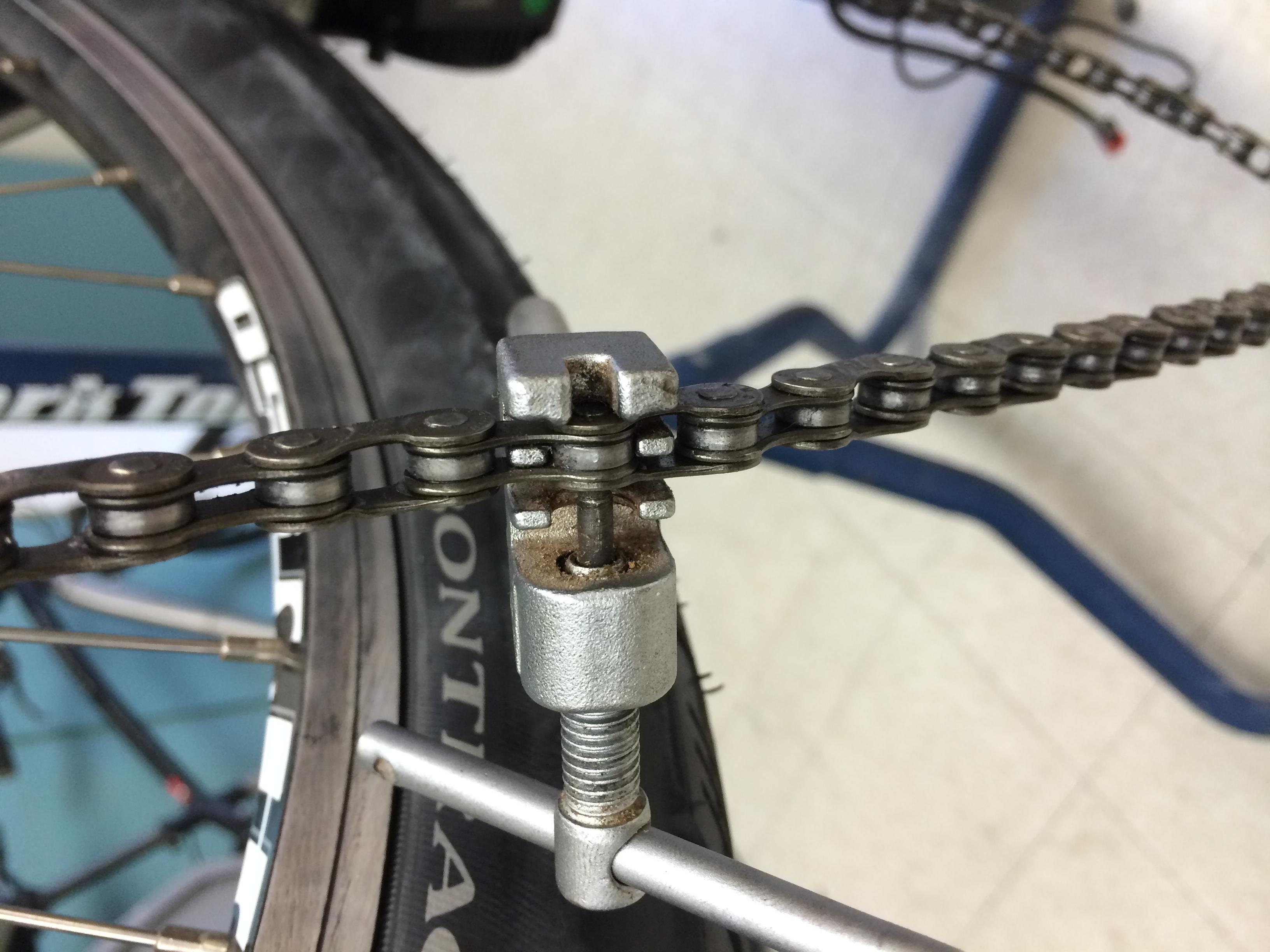 Removing Chain to Remove Front Derailleur