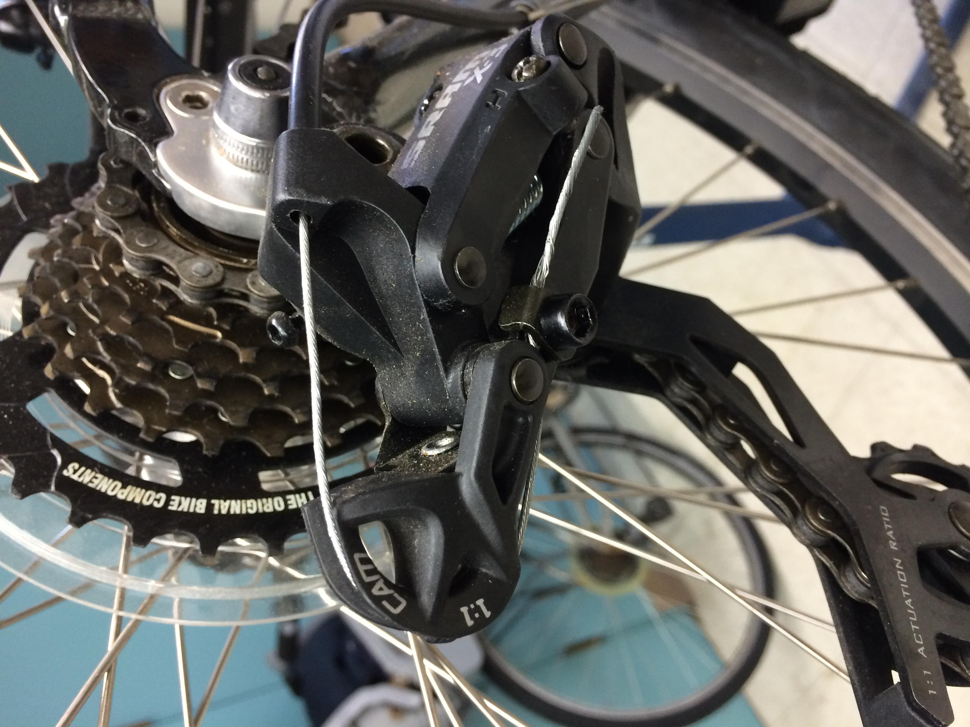 Replacing Rear Derailleur Cable