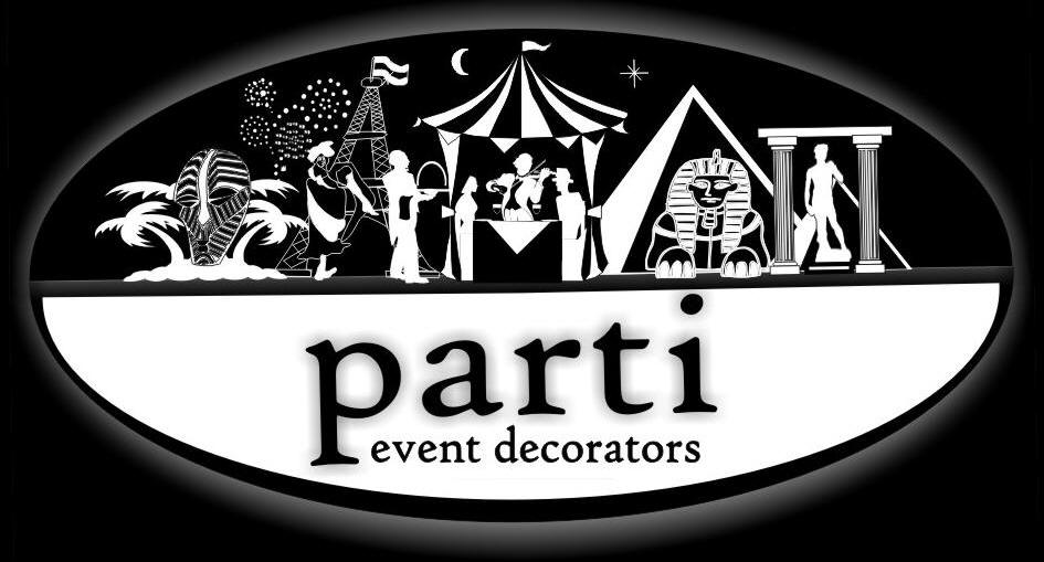 Lisa & Bruce Williment of  Parti Theme Events  provide our beautiful decorations.