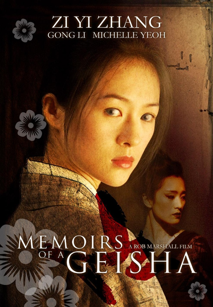 November's film is Memoirs of a Geisha by director Rob Marshall based on a book by Arthur Golden.  Come along and enjoy an immersion into Japanese society in a tradition that still lives on today.