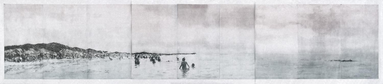 Panorama Cape Cod, 2014, Photopolymer intaglio, 19.75 x 30.75 each