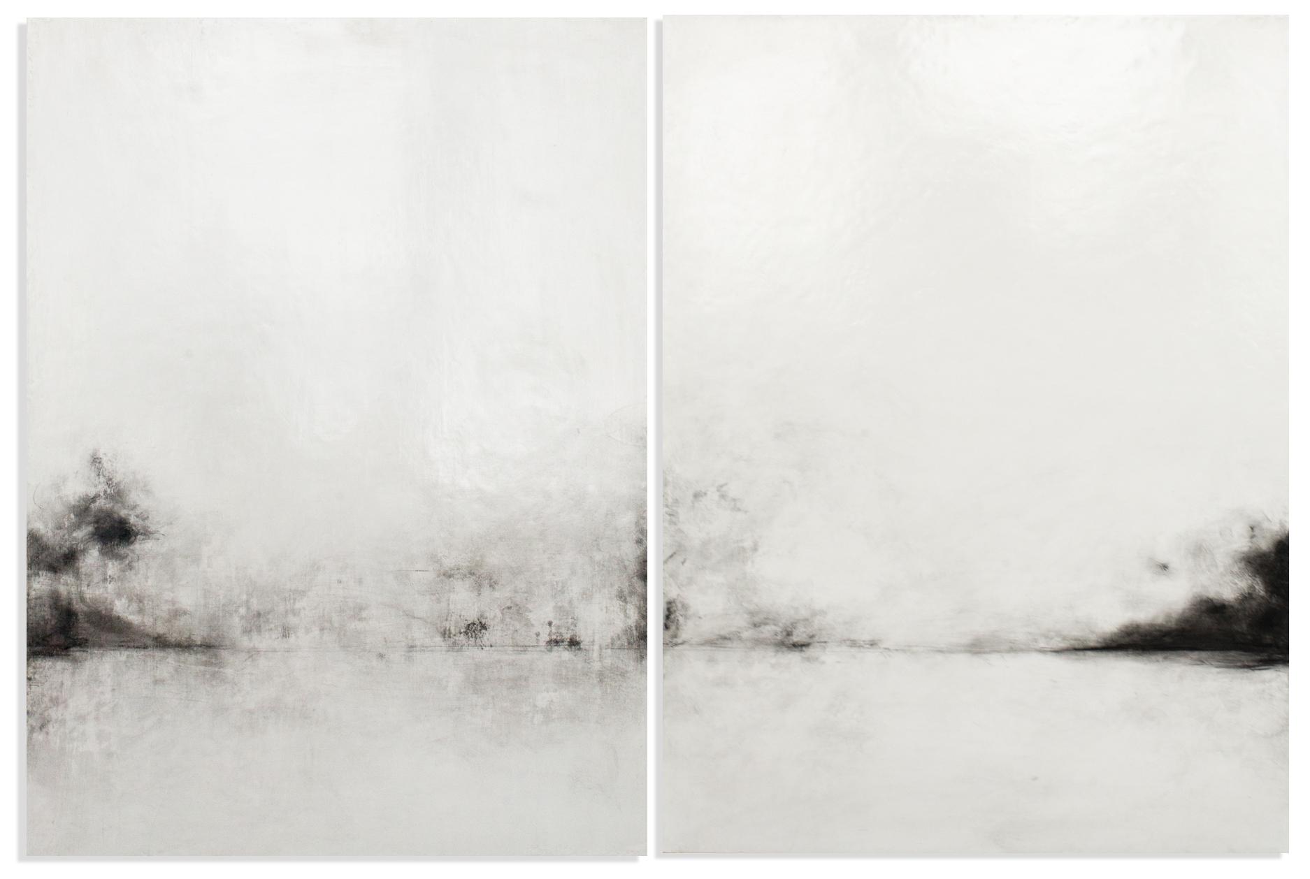 Unattended Landscape XXVIII, 2016, mixed media on panel