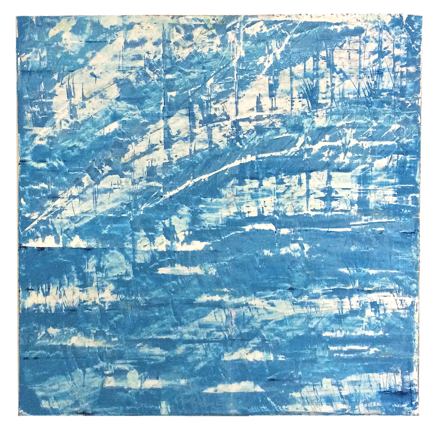 Hydrographic 10, 42 x 42 inches