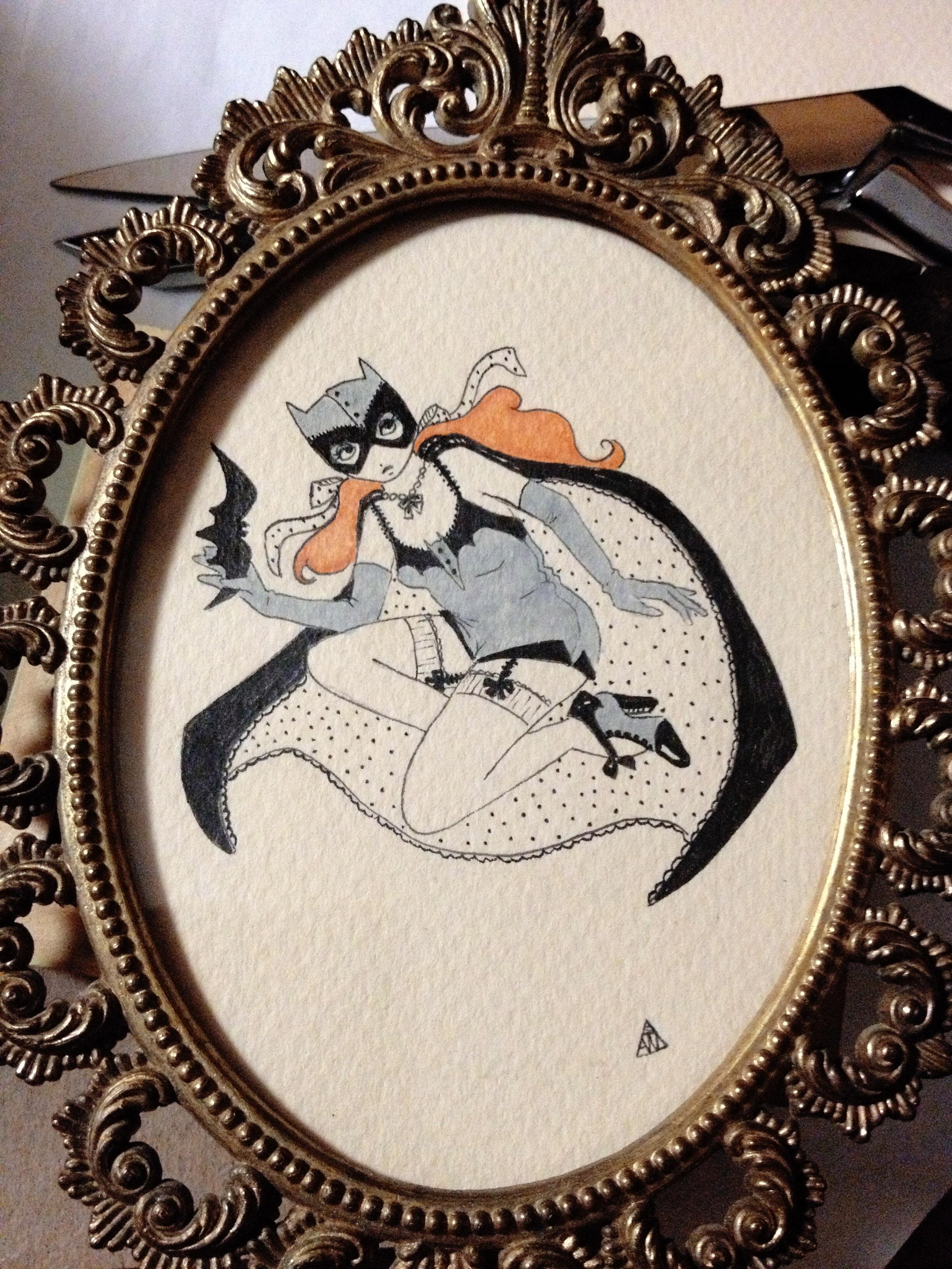 Art Deco Batgirl
