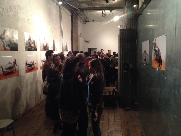 It was busy all night, what a success. We capped off the evening after Ivy took around 80 portraits!