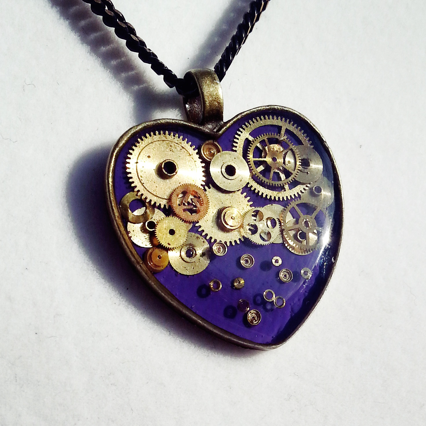 I am so pleased to welcome the very first electric purple Mechanical Heart!