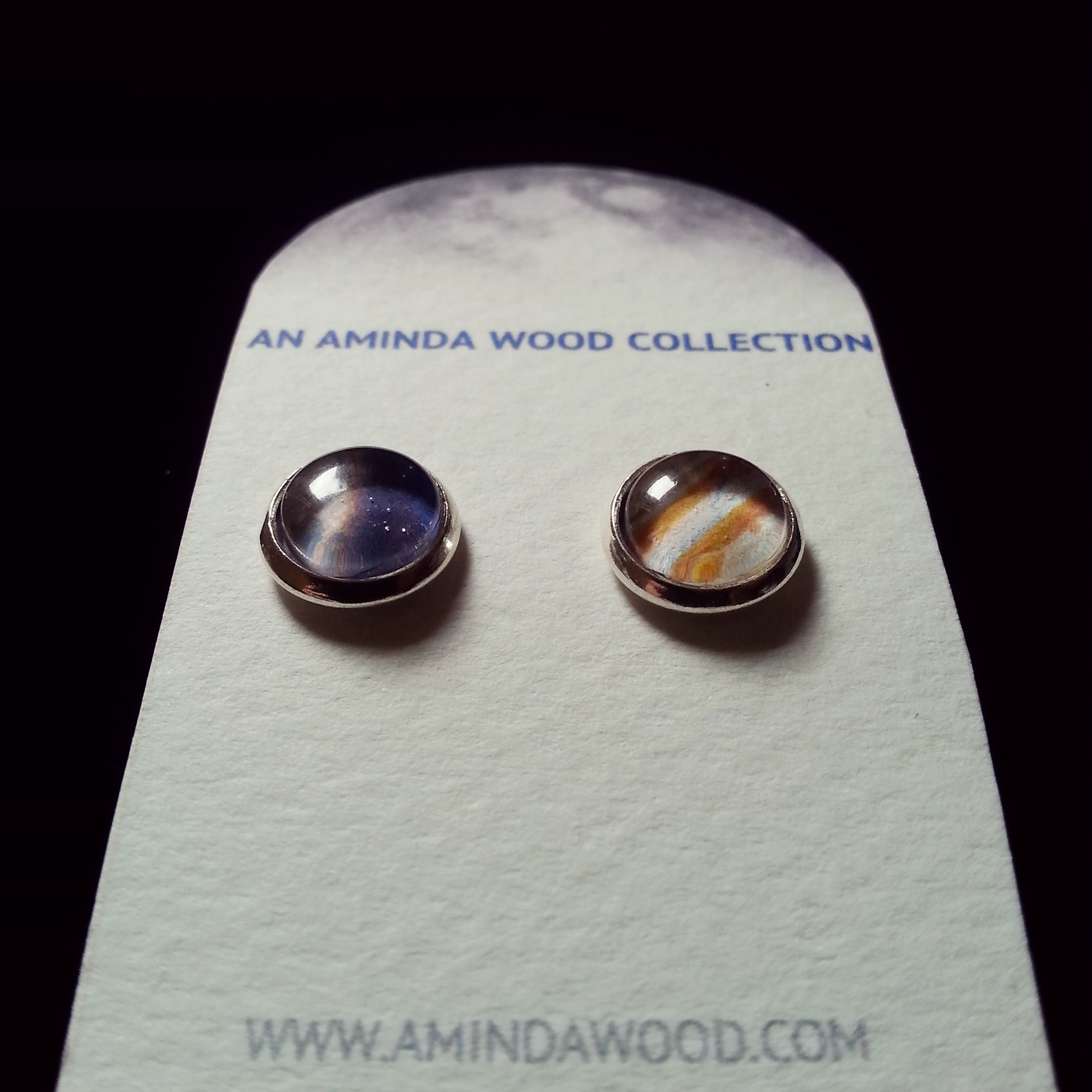 Moon & Jupiter Mission Earrings