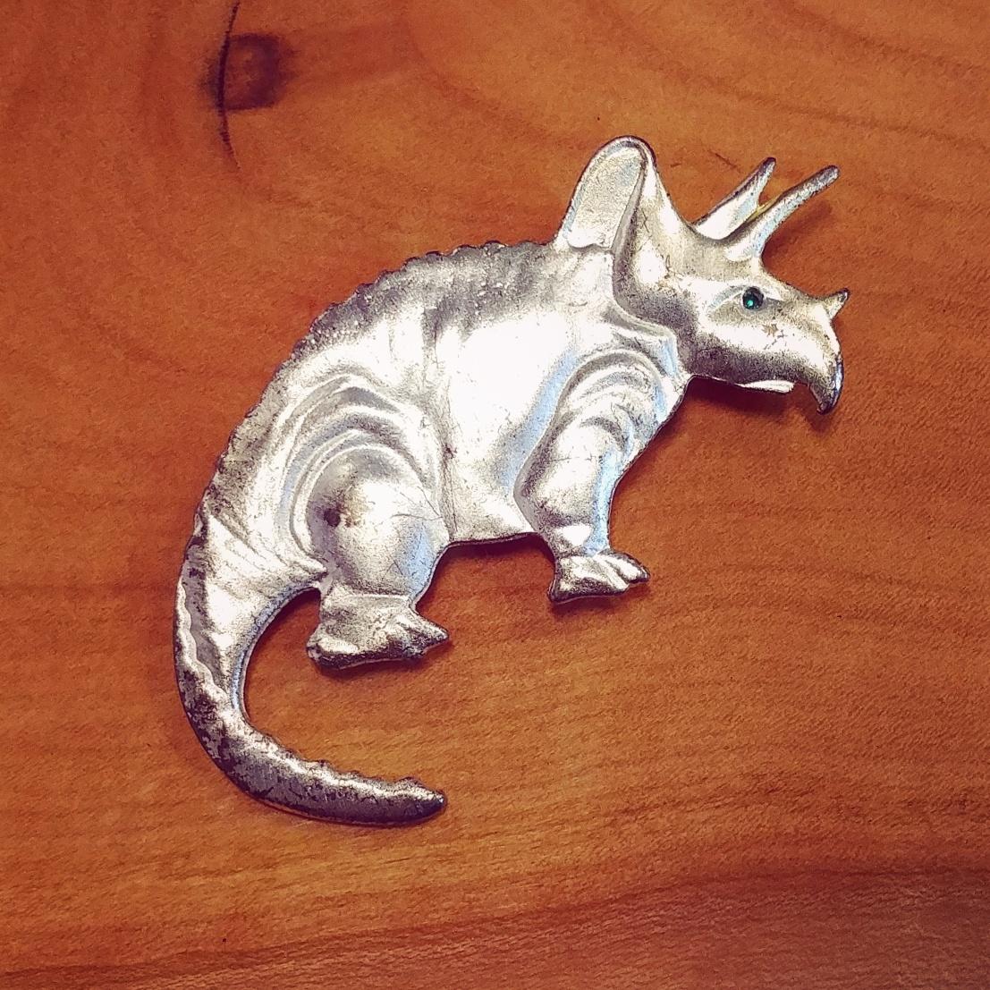 vintage Coro Dinosaur brooch