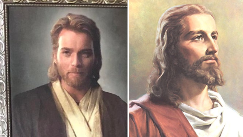[Image from:  http://www.ladbible.com/news/news-son-pranks-his-mum-with-a-picture-of-ewan-mcgregor-she-thinks-is-jesus-20181227 ]