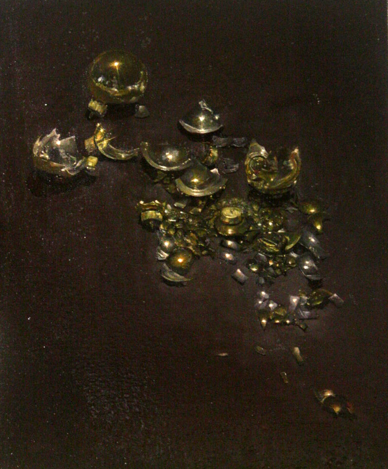 ornaments, 2012 | oil paint, 15 x 17 in