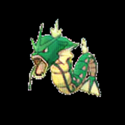 Gyarados as grass type