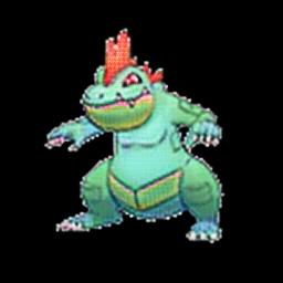 Feraligatr as grass type