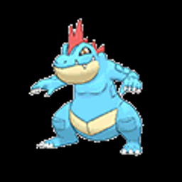 Feraligatr, water type