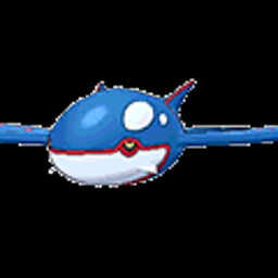 Kyogre, water type