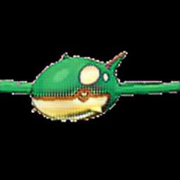 Kyogre as grass type