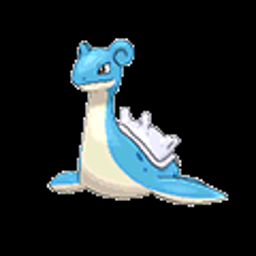 Lapras, water type