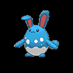 Azumarill, water type