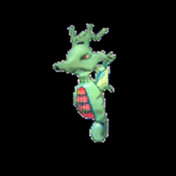 Kingdra as grass type