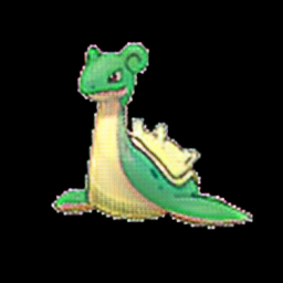 Lapras as grass type