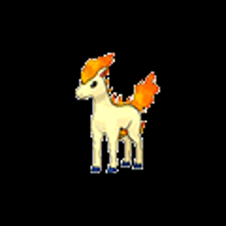 Ponyta, fire type