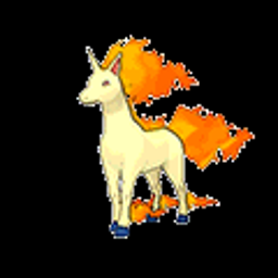 Rapidash, fire type