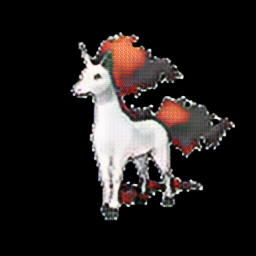Rapidash as dark type