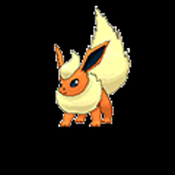 Flareon, fire type