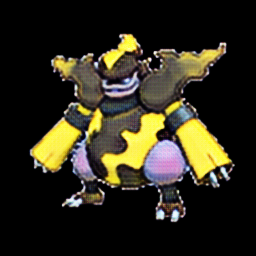 Magmortar as electric type