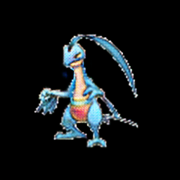 Grovyle as water type