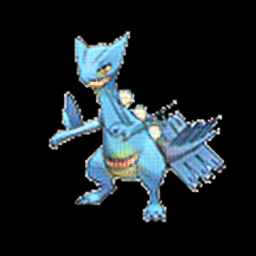 Sceptile as water type