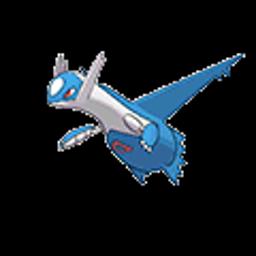 Latios, dragon type